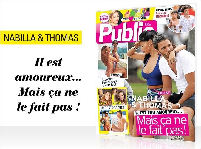 Magazine Public : Nabilla et Thomas en couverture !