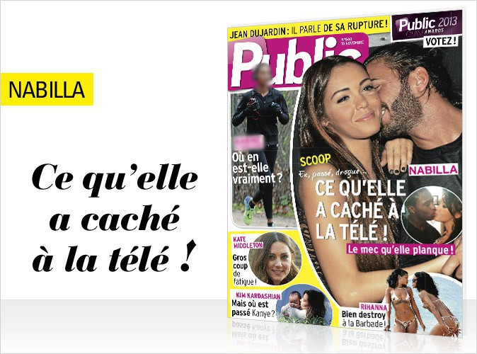 Magazine Public : Nabilla  : tout ce qu'elle a caché à la télé !