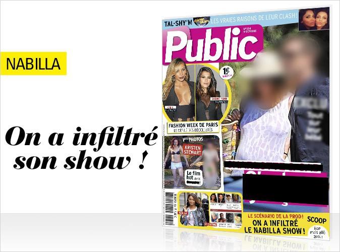 Magazine Public : On a infiltré le tournage d'Allô Nabilla !
