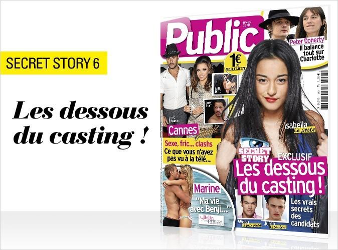 Magazine Public : Secret Story 6 les dessous du casting en couv !