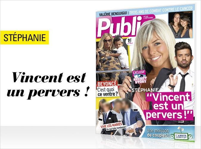 Magazine Public : Stéphanie balance en couverture sur Vincent de Secret Story 7!