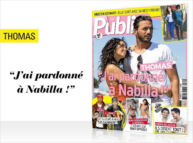 Magazine Public : Thomas et Nabilla réconciliés en couverture !