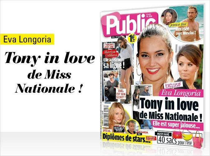 Magazine Public : Tony Parker et Miss Nationale en couv !