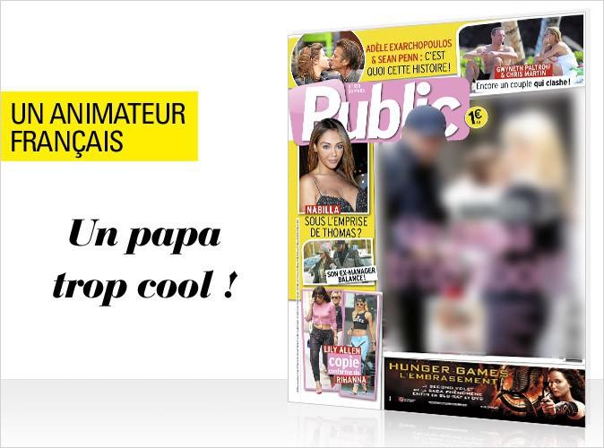 Magazine Public : un animateur français papa poule en couverture !