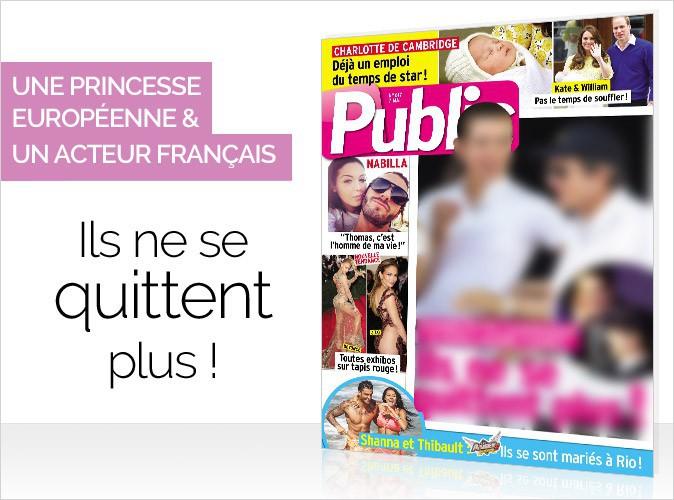 Magazine Public : une princesse et un acteur français très proches en Une de votre numéro en vente ce jeudi !