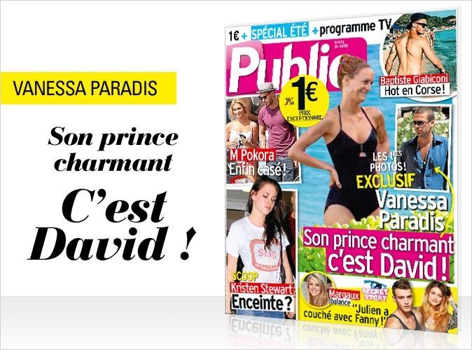 Magazine Public : Vanessa Paradis en couv !
