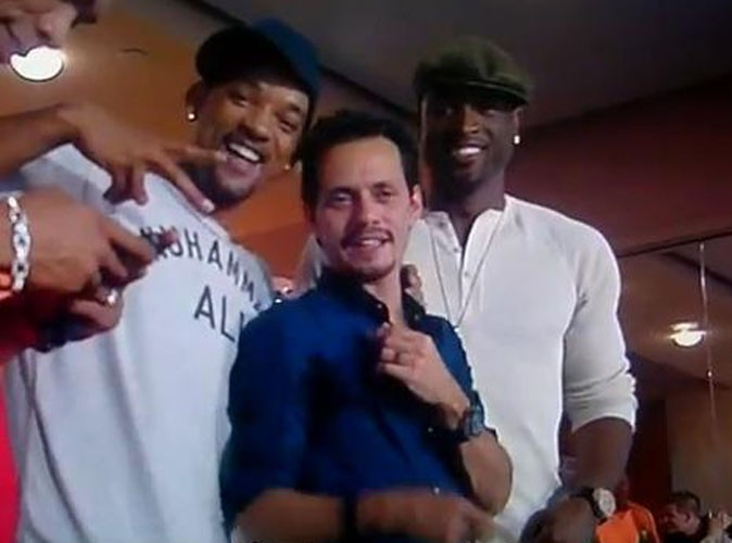 Marc Anthony et Will Smith s'affichent ensemble pour faire taire les rumeurs !