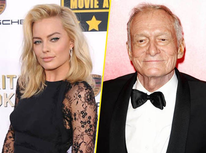 Margot Robbie : elle a fait craquer le roi des Playmates, Hugh Hefner !