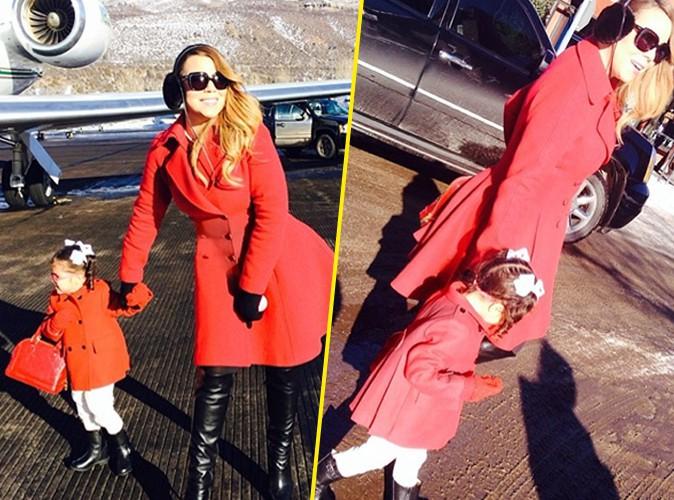 Mariah Carey : assortie à sa mère, sa fille Monroe, 2 ans, porte si bien le sac à main Louis Vuitton !