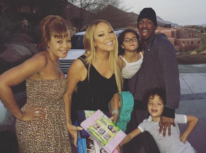 Mariah Carey : elle passe la journée en famille avec Nick Cannon et les jumeaux !