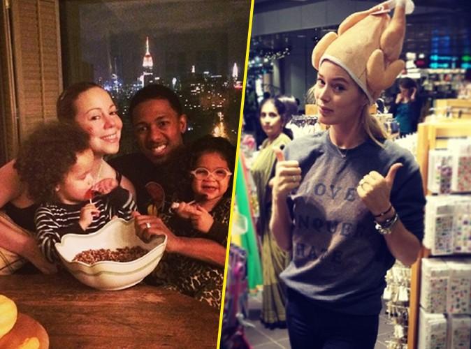 Mariah Carey, Mel B, Doutzen Kroes : elles nous font partager leur Thanksgiving !