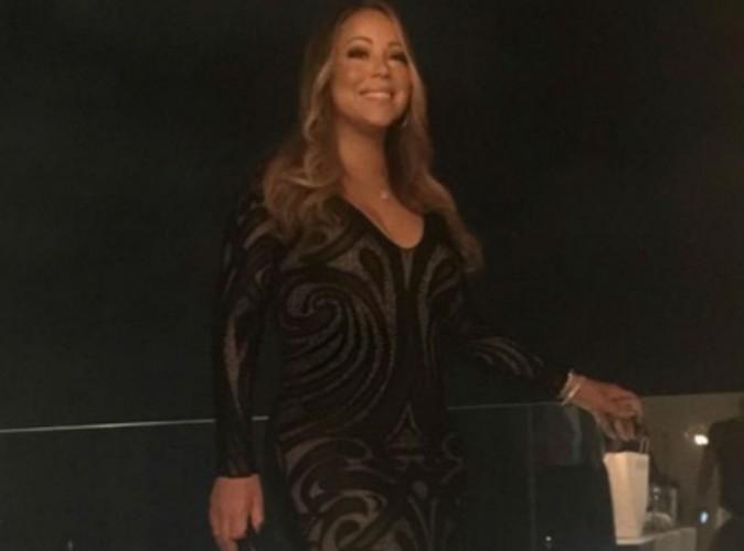 Mariah Carey : robe glamour des grands soirs pour son tout premier concert en Israël !