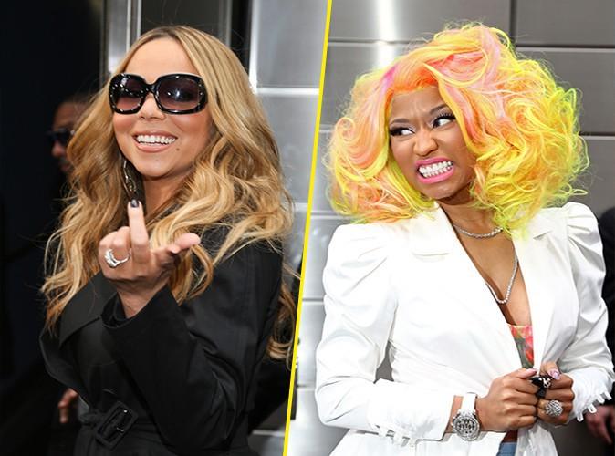"""Mariah Carey tacle Nicki Minaj : """"C'était comme aller travailler avec Satan !"""""""