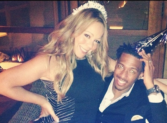 Mariah Carey toujours aussi sexy pour célébrer l'anniversaire de son mari !