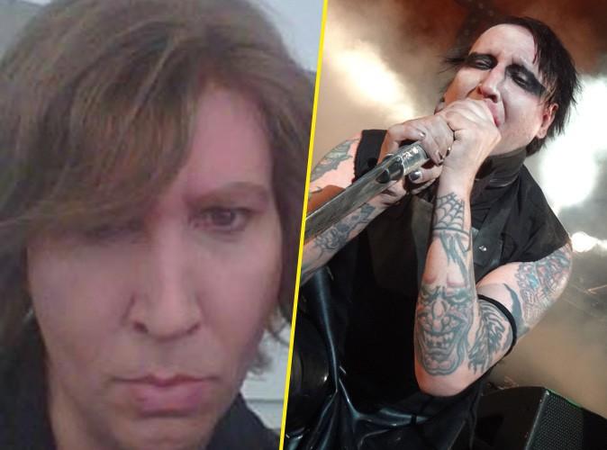 Marilyn Manson : plus du tout le même sans maquillage !
