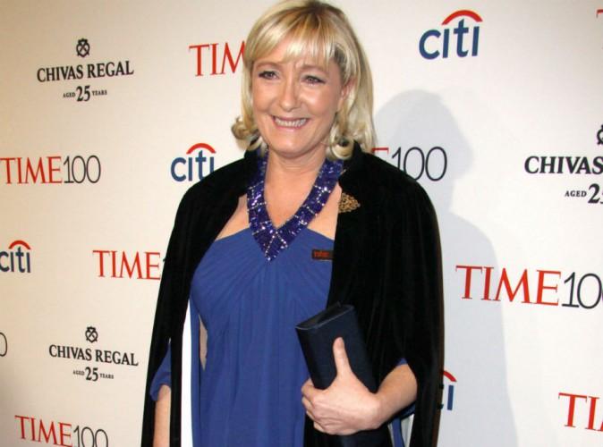 Marine Le Pen à la soirée du Time : sa robe, louée et sans marque !