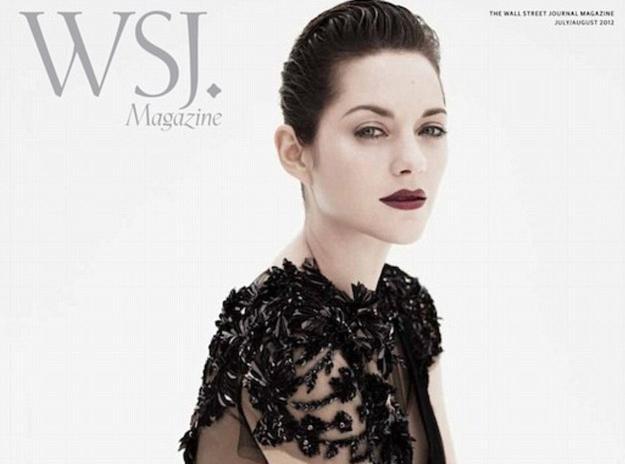 Marion Cotillard : une princesse gothique pour WSJ Magazine...