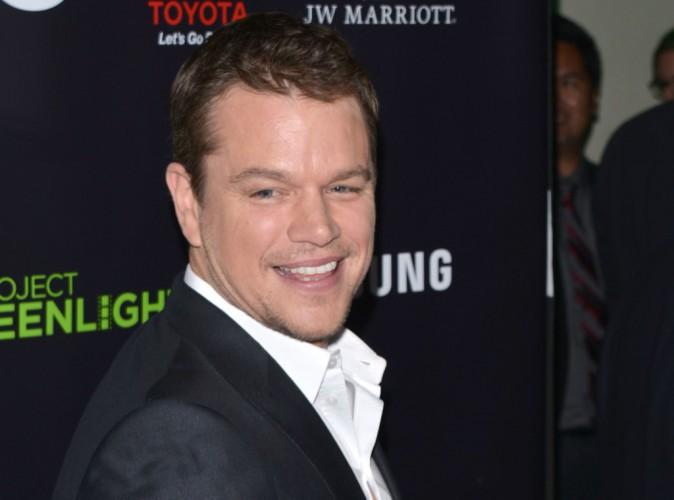 Matt Damon : Avec ses cheveux longs, il est presque méconnaissable !
