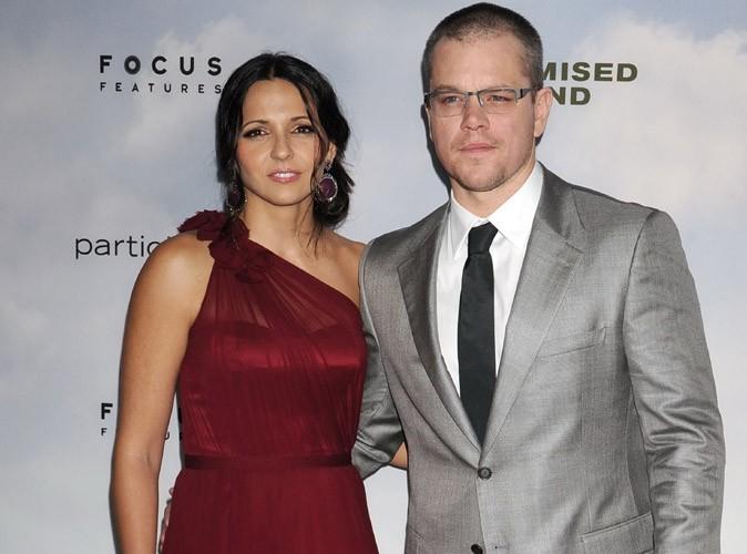 Matt Damon : il a renouvelé ses voeux avec sa femme Luciana dans les Caraïbes !