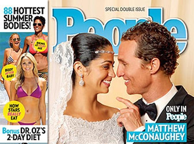 Matthew et Camila McConaughey : leur magnifique photo de mariage !