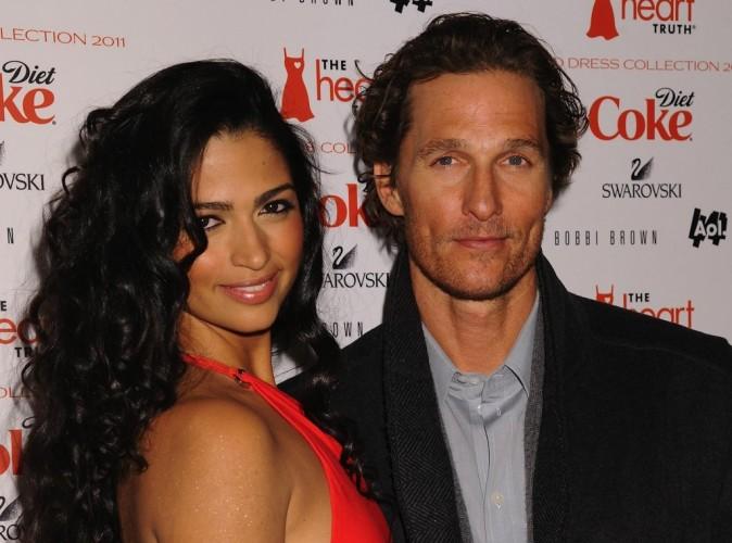 Matthew McConaughey et Camila Alves : vive les jeunes mariés !