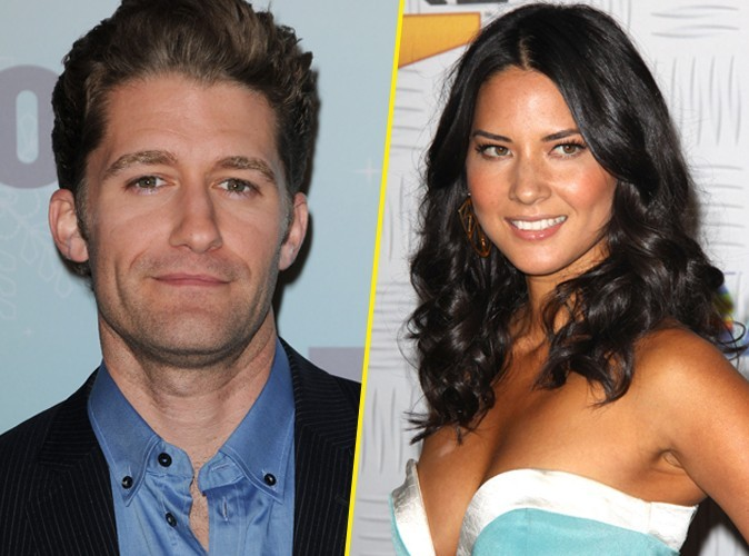 Matthew Morrison de Glee et l'actrice Olivia Munn surpris en train de flirter !