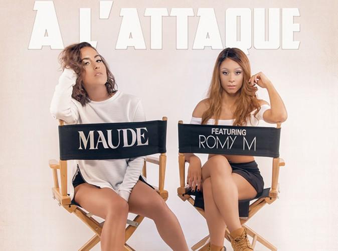 """Maude : elle s'associe à la bombe R&B Romy M pour le titre inédit """"A l'attaque"""" !"""