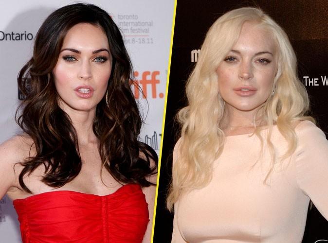 Megan Fox et Lindsay Lohan : elles se disputent le même rôle !