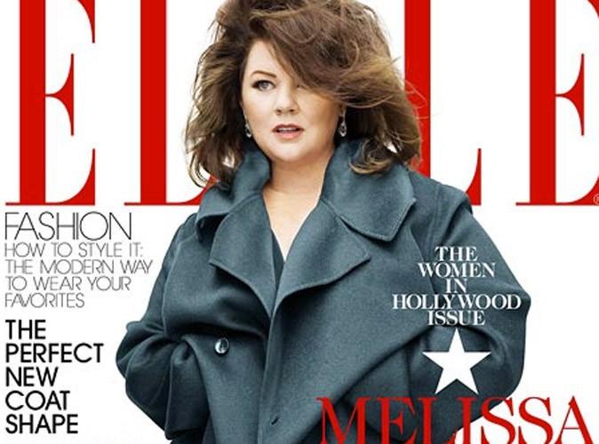 Melissa McCarthy : trop couverte en Une de Elle ? Le magazine répond à la polémique !