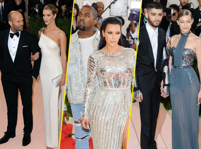 Met Gala 2016 : Photos : Les couples les plus glamours sur le red carpet