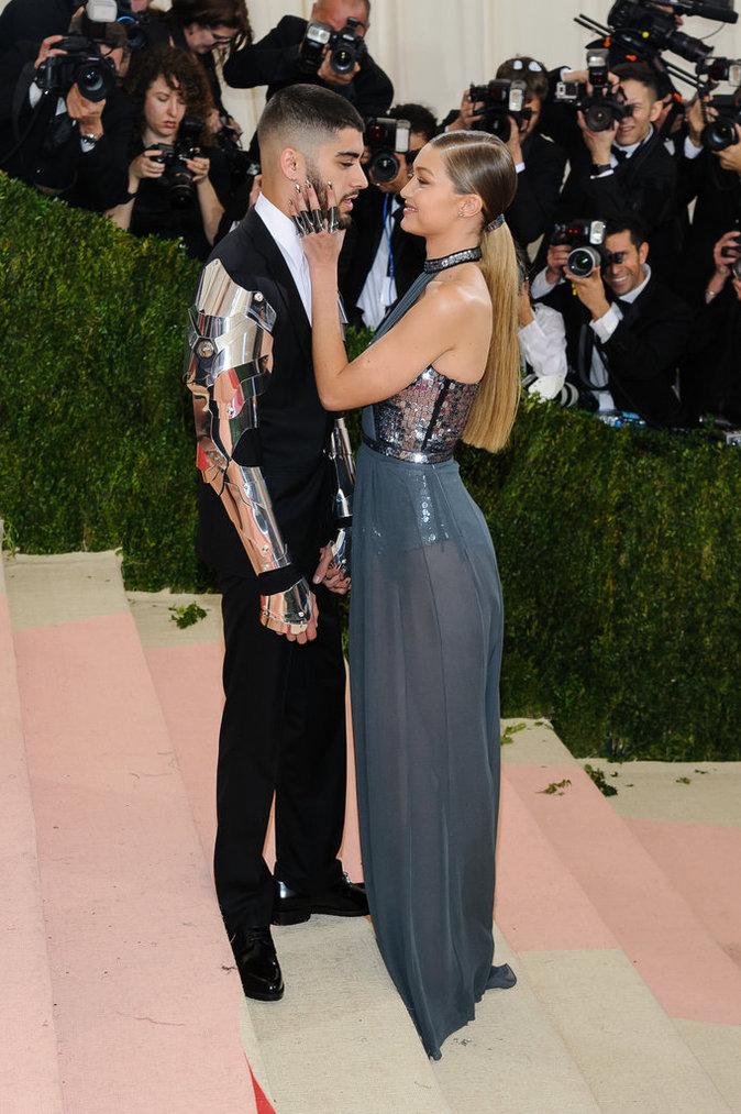 Met Gala 2016 : Zayn Malik et Gigi Hadid au Metropolitan Museum of Art à New York