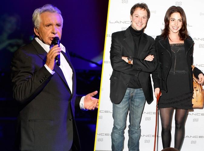 Michel Sardou à nouveau grand père ... Son fils Davy est papa d'une petite Lucie !