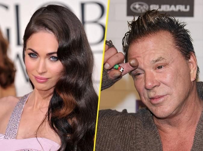 Mickey Rourke s'excuse de s'être moqué de Megan Fox