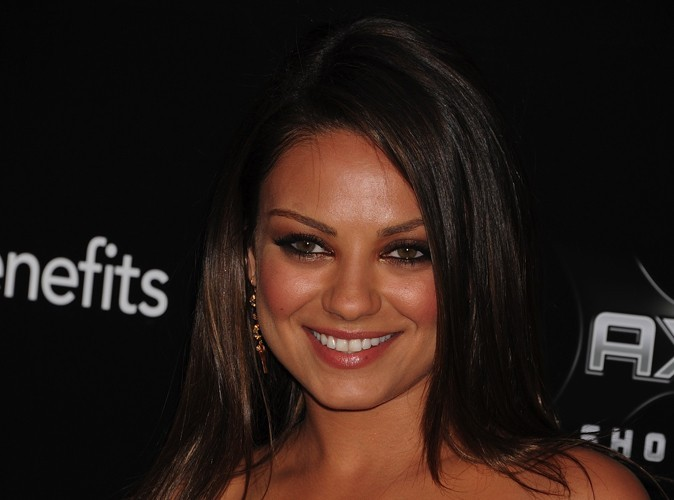 Mila Kunis : elle aime les rigolos !