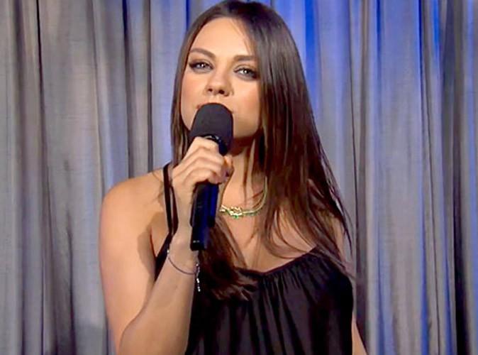 Mila Kunis : elle pousse un coup de gueule contre tous les futurs papa !