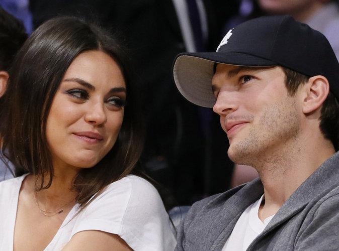 Mila Kunis : elle révèle la taille du sexe d'Ashton Kutcher à la télévision !