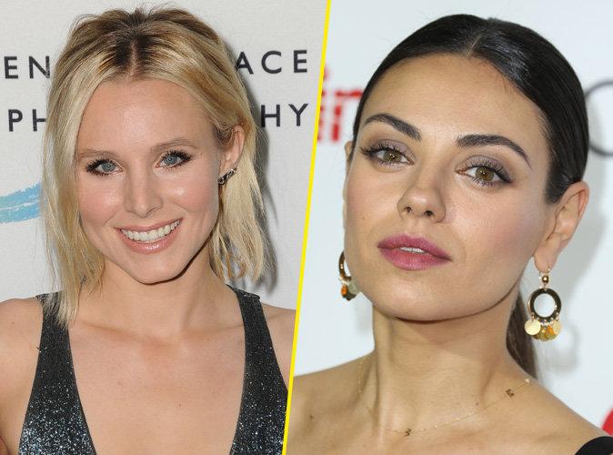 """Mila Kunis et Kristen Bell : comme vous ne les avez jamais vus dans le film """"Bad Moms"""" !"""