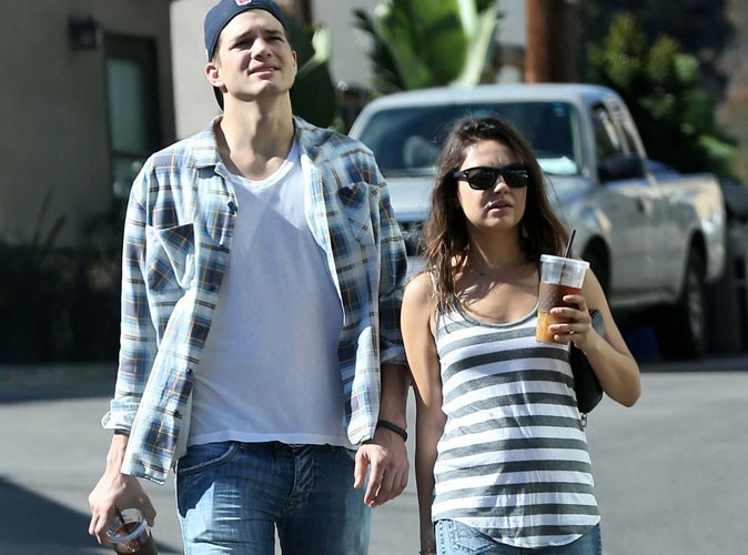 Mila Kunis : un bon petit bidon, mais pas de grossesse en vue !?