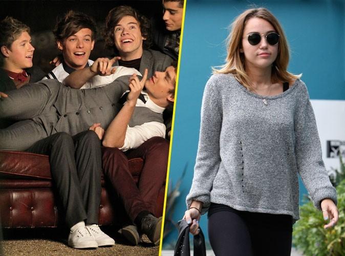 Miley Cyrus : elle passe a côté du phénomène One Direction !