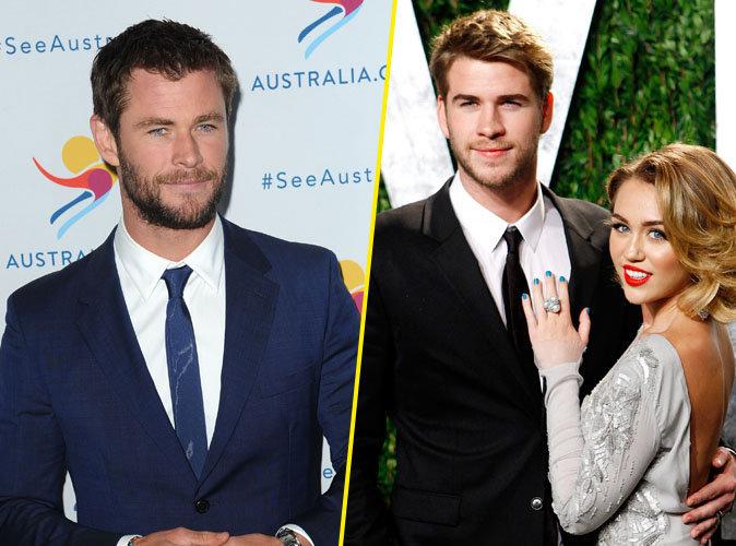 Miley Cyrus et Liam Hemsworth bientôt mariés : Chris Hemsworth répond !