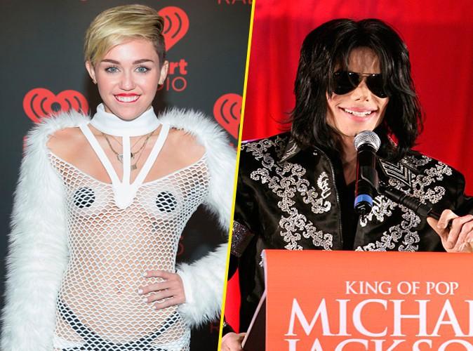 Miley Cyrus : et maintenant, elle se compare à Michael Jackson !