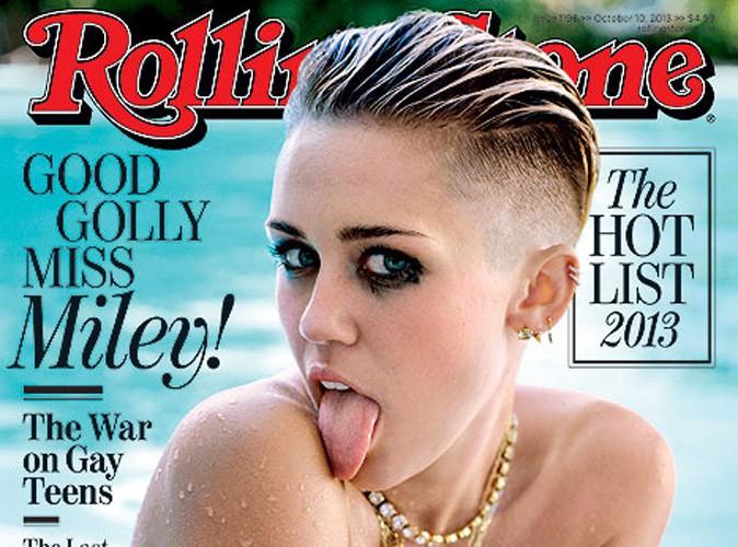 """Miley Cyrus : """"maintenant, les gens s'attendent à ce que je vienne et que je twerk avec ma langue tout le temps !"""""""