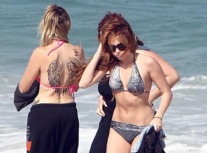 Miley Cyrus : pas contente qu'on la prenne en photos en bikini !