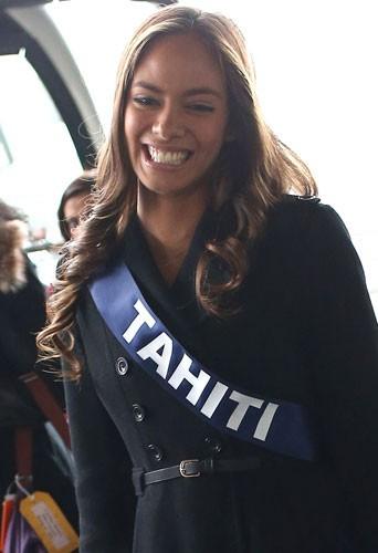 Miss Tahiti 2012 : la magnifique Hinarani de Longeaux devrait concourir à l'élection de Miss Univers !