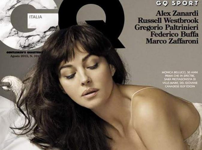 Monica Bellucci, une bombe pulpeuse pour GQ Italie !