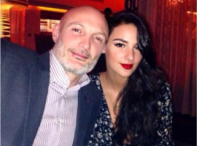 N'en déplaise à certains, Frank Leboeuf est fier de sa fille Jade !
