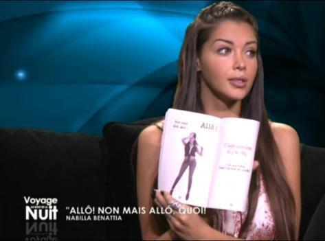 Nabilla : guest-star d'une émission littéraire sur D8 !