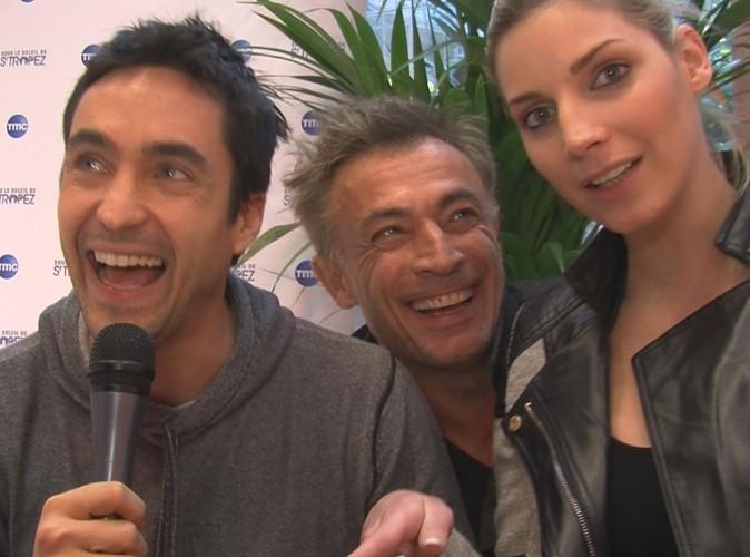 Nadège Lacroix, Fred Deban et Nicolas Van Beveren : très en forme pour le retour de Sous le soleil de Saint-Tropez !