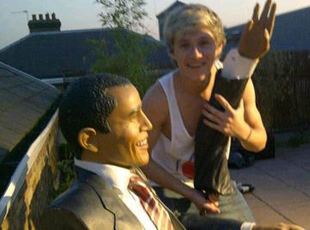 Niall Horan : il s'amuse comme il peut avec Barack Obama !
