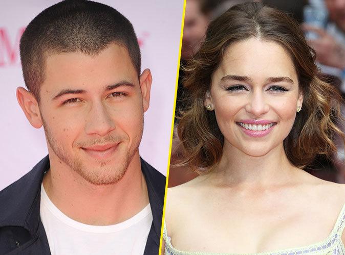 Nick Jonas : Il avoue être obsédé par Emilia Clarke !